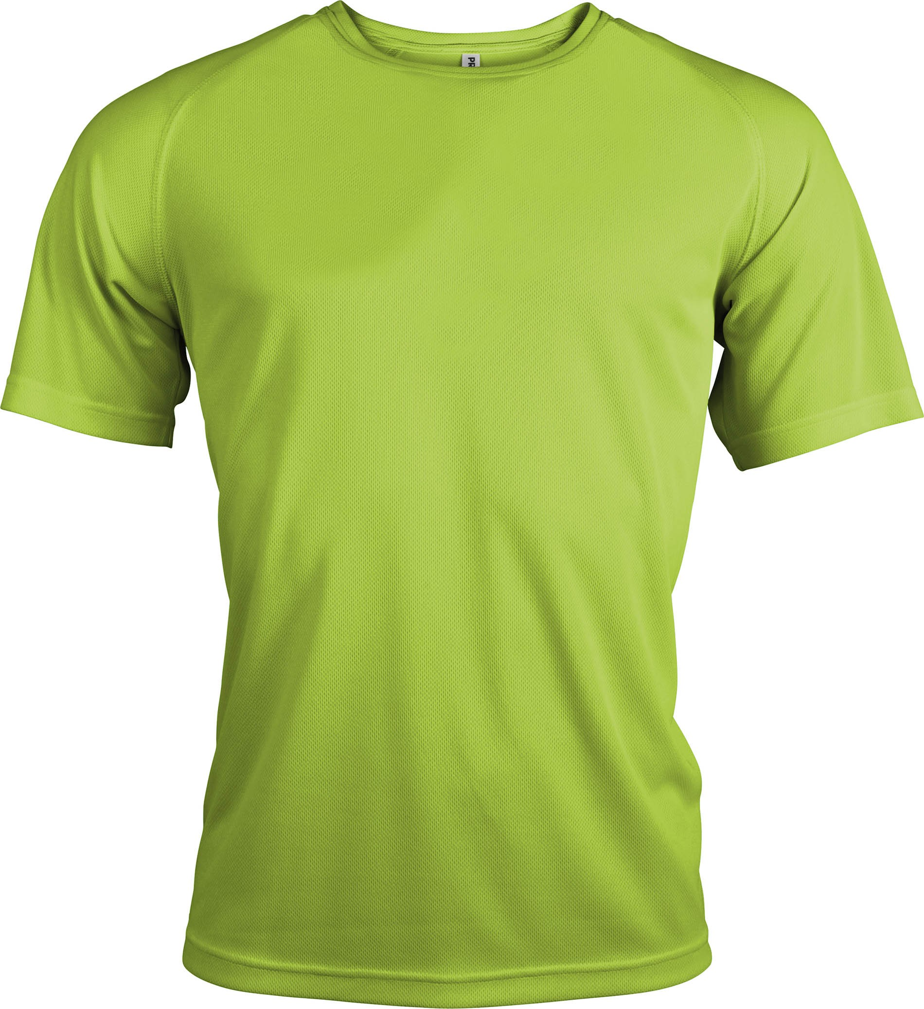 Tricou alergare polyester verder lime