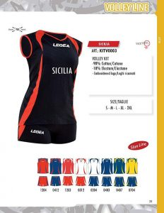 Kit Volei Sicilia