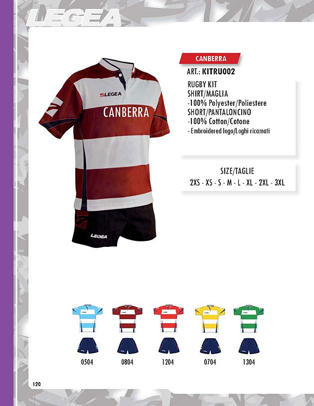Kit Rugby Canberra