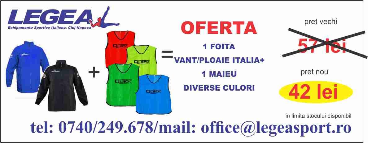 Foita vant ploaie Italia + maieu diverse culori